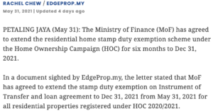 HOC-stamp-duty-exemption-scheme-extended-till-end-2021-tropika-bukit-jalil-1