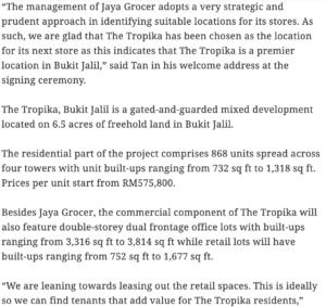 Jaya-Grocer-to-be-anchor-tenant-at-The-Tropika,-Bukit-Jalil-2
